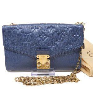 Auth Louis Vuitton Empreinte Wallet on Chain Bag